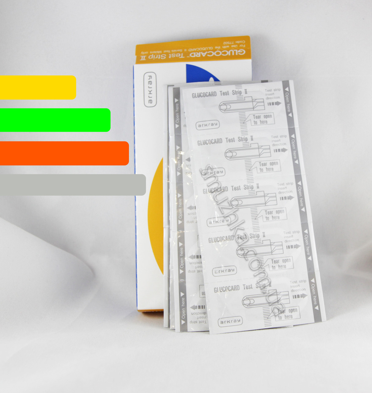 Тест-полоски Глюкокард 2, 25 шт. - Glucocard II #25 Arkray