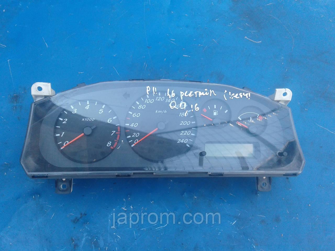 Панель щиток приборов Nissan Primera P11 2000-2001г.в 1.6 QG16 бензин рестайл BE810