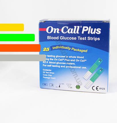 Тест полоски Он Колл Плюс #25 - On Call Plus 25шт., фото 2