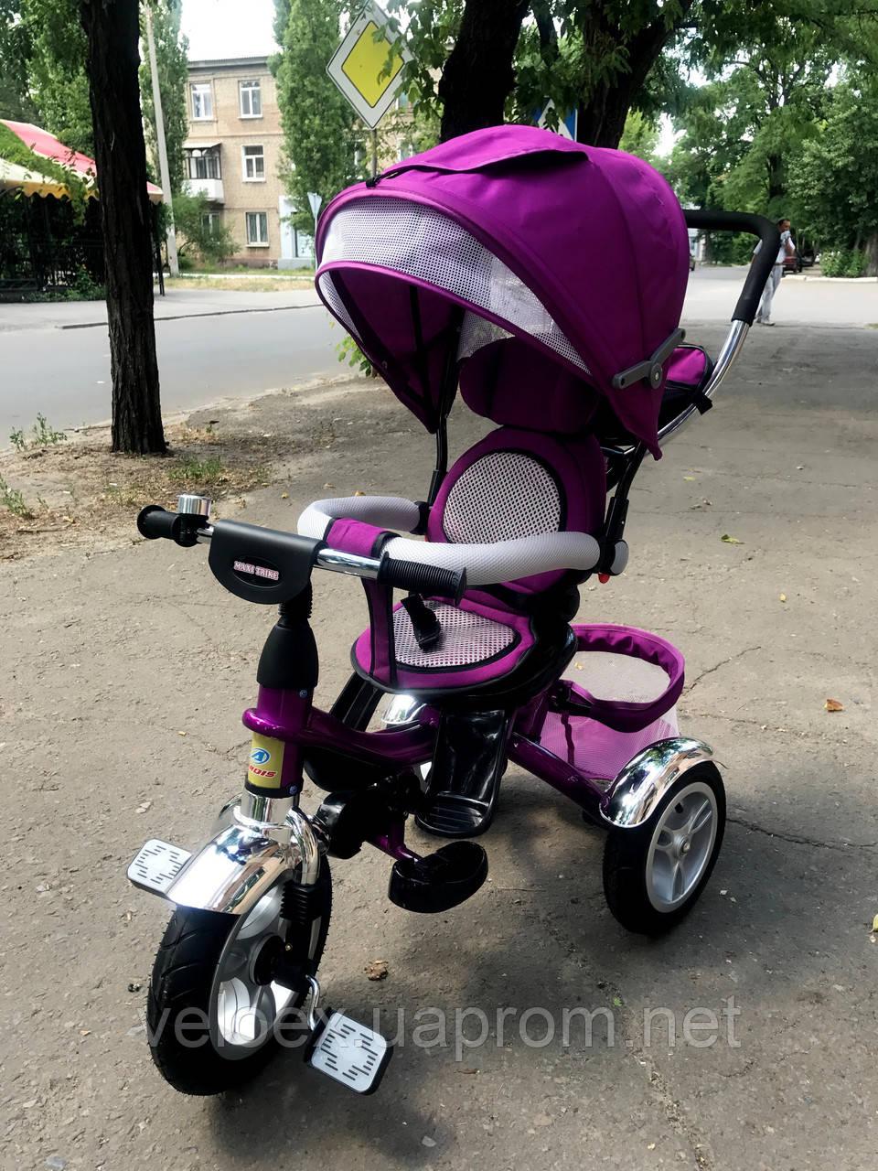 Велосипед Ardis Maxi Trike с надувными колесами детский фиолетовый
