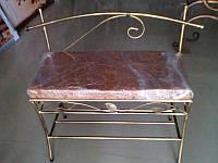 Банкетка со спинкой 80 см, фото 1