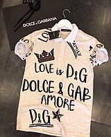 Мужская футболка поло  DG (копия)