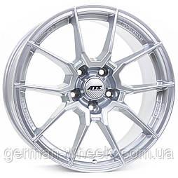 """Диски ATS (АТС) модель RACELIGHT цвет Royal-silver  параметры  8.5J x 18"""" 5 x  108 ET 38"""