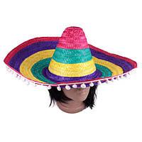 """Сомбреро """" Яркий Мексиканец """""""