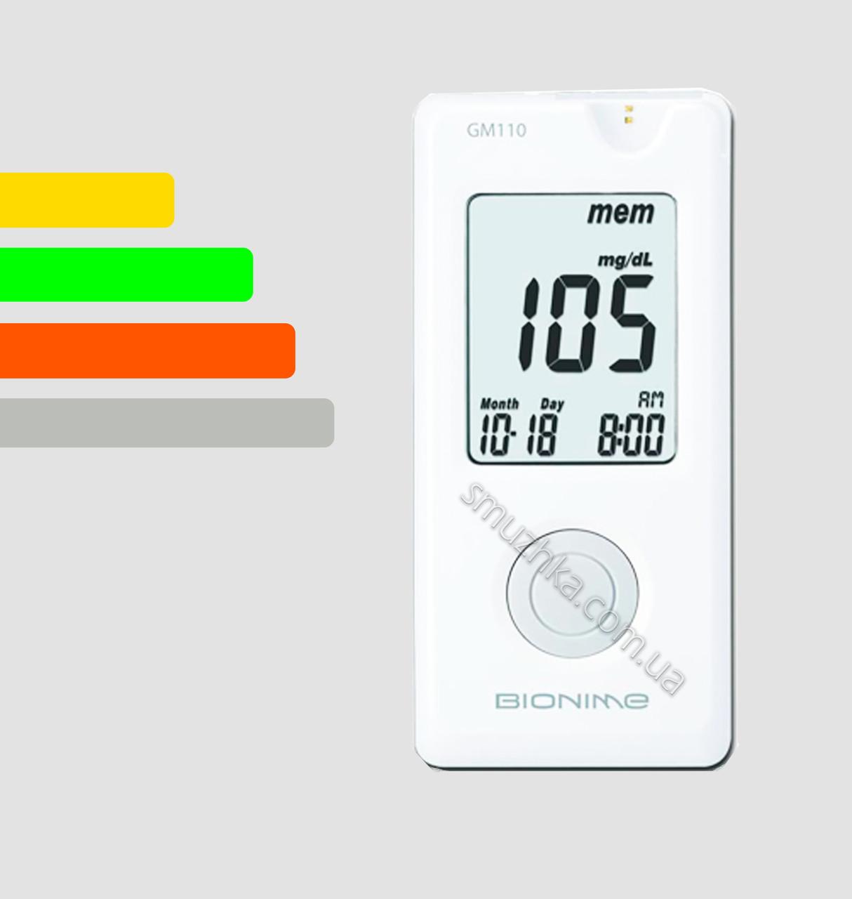 Глюкометр Бионайм GM110 - Bionime GM110