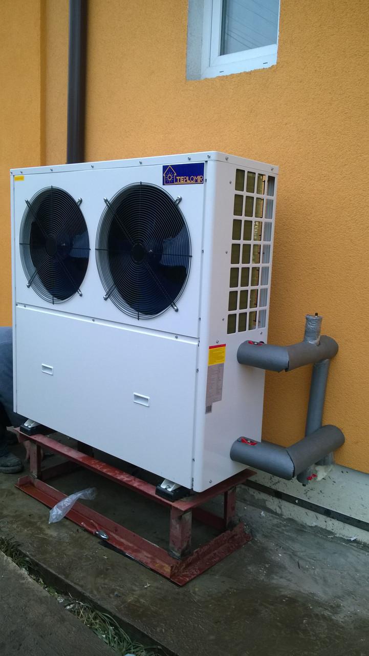 Тепловой насос воздух-вода TEPLOMIR EVI18