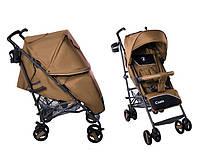 Детская коляска прогулочная трость Baby Tilly Carrello Costa коричневая
