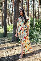 Женственное красивое платье на запах