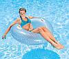 Круг Надувной Для Плавания Intex «Кристалл», 114 См, С Держателями Для Рук Ps, фото 3