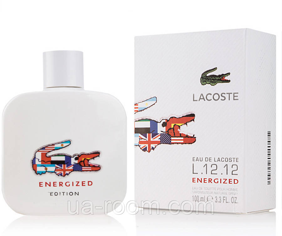 Lacoste L.12.12 Energized Edition ,мужская туалетная вода 100 мл.