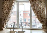 Окно металлопластиковое трехстворчатое Рехау Бриллиант Rehau Brillant, фото 1