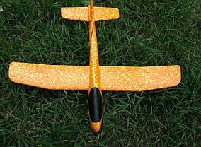 Метальний Планер Великий - 48 див. Літак бумеранг. Літак планер. Літак трюкач, фото 2