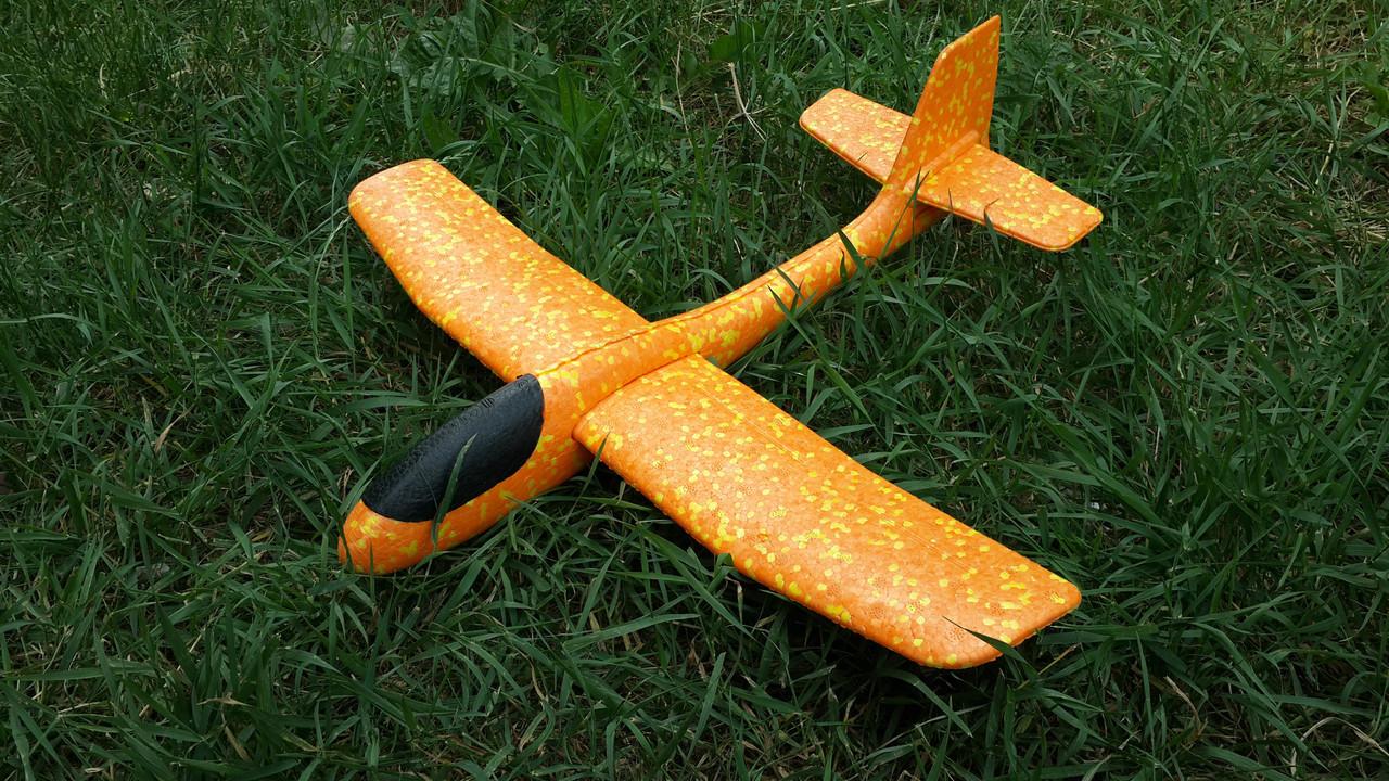 Метательный Планер Большой - 48 см. Самолет бумеранг. Самолет планер. Самолет трюкач