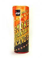 Цветной дым для фотосессий Jorge оранжевый высокая насыщенность