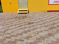 Тротуарна плитка старе місто 3см цвет