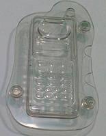 "Форма поликарбонатная для шоколада 3 D ""Мобилка"" 198*111*32 мм (шт)"