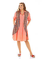 Сукня-сорочка більшого розміру, фото 1