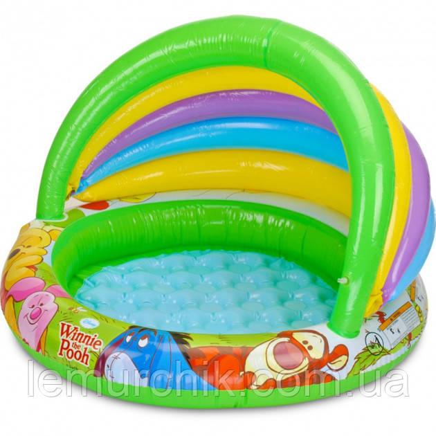 """Дитячий надувний басейн Intex """"Вінні пух"""", 102х69х13 см"""