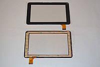 Оригинальный тачскрин / сенсор (сенсорное стекло) для Digma Optima M7.0 (черный цвет, тип 1, самоклейка)
