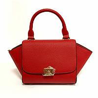 Насыщенная красная летняя сумка , кросс боди, крос боди zara