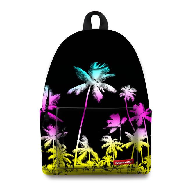 Школьный рюкзак Пальмы
