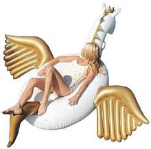 Надувной круг «Gold Unicorn»