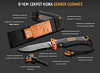 Нож для выживания Gerber Bear Grylls