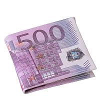Кошелек в виде банкноты 500 евро