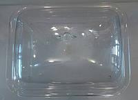 Витрина { тортовница} акриловая прямоугольная с крышкой 465*365 мм (шт)