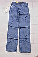 Тонкие летние мужские джинсы темно-синие 29 размер