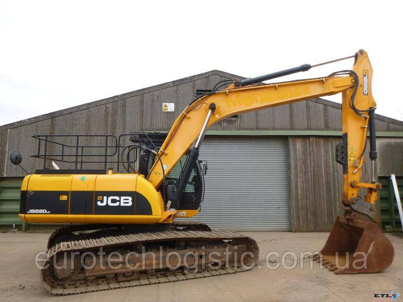 Гусеничный экскаватор JCB JS220 LC.