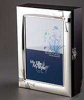 Прекрасная ключница Штрихи художника Дом Бантик Волны  Стильная яркая Прекрасный подарок Код: КГ4995