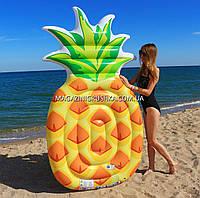 Матрас надувной Intex Ананас (Pineapple) арт. 58761. Отлично подходит для отдыха на море, в бассейне