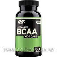 Аминокислоты Optimum Nutrition BCAA 1000, 60 caps, фото 1