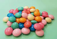 Цветные драже 10 мм,  50 грамм