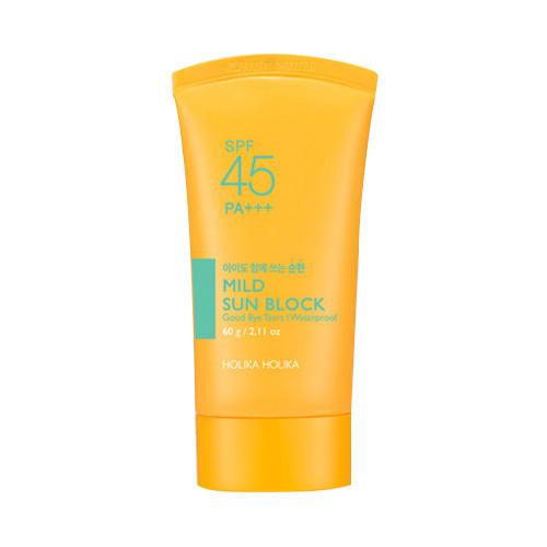 Увлажняющий солнцезащитный крем Holika Holika mild Sun Block SPF 45 PA+++ - 60г