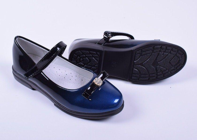 Туфли Башили black - blue
