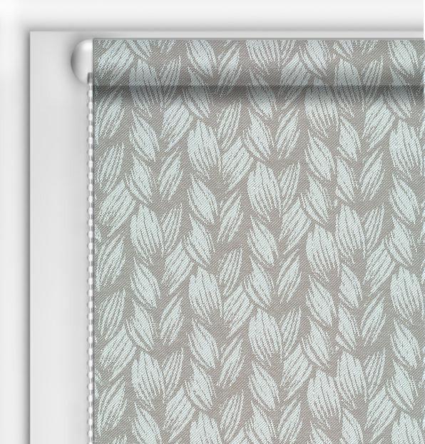 Рулонные шторы DIY Брэйд серый