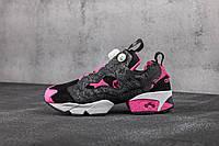 Reebok Instapump Fury Black  Pink
