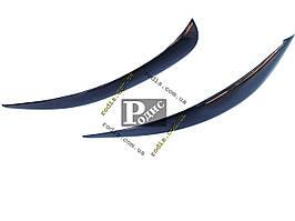 "Реснички на фары ""AV-Tuning"" MERCEDES BENZ Vito W639 2003-2010 - Накладки на оптику декоративные Мерседес Вито В639"