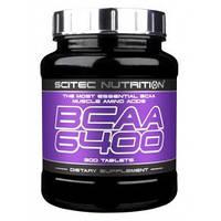 Аминокислоты Scitec Nutrition BCAA 6400, 375 tabl