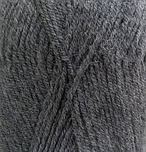 Пряжа для вязания Альпака роял ALIZE серый 196