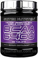 Аминокислоты Scitec Nutrition BCAA 6400, 125 tabl