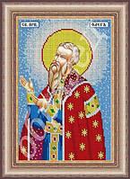 Схема для вышивки бисеромименной иконы -Святой ОлегСБ-ии фам-76