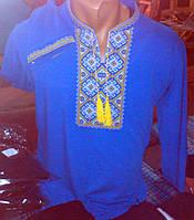 Рубашка мужская с вышивкой