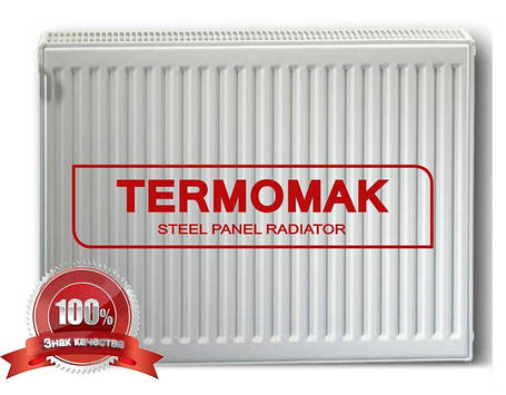 Стальной Радиатор отопления (батарея) 500x1100 тип 22 Termomak (боковое подключение), фото 2