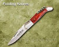 Нож складной со штопором