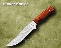 Нож охотничий Олень. Рукоять - дуб., фото 1