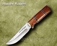 Нож охотничий. Рукоять - красное дерево