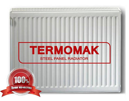 Стальной Радиатор отопления (батарея) 500x1200 тип 22 Termomak (боковое подключение), фото 2